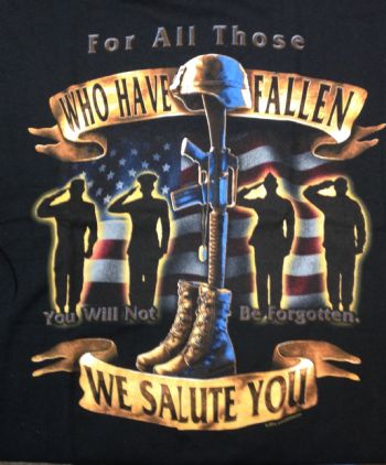 For All Those Who Have Fallen, We Salute You