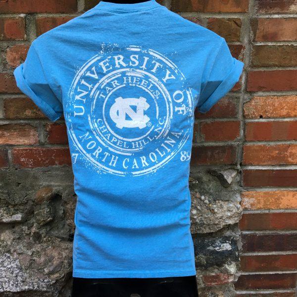 UNC: Watermark Blue