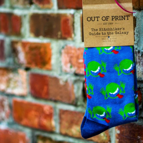 02eea083af609 Hitchhiker's Guide to the Galaxy Socks - Top Toad - Top Toad