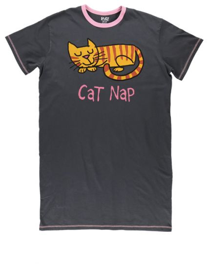 Cat Nap Night Shirt