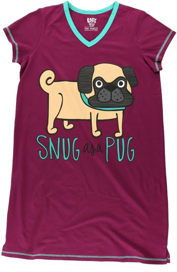 Snug as a Pug Night Shirt