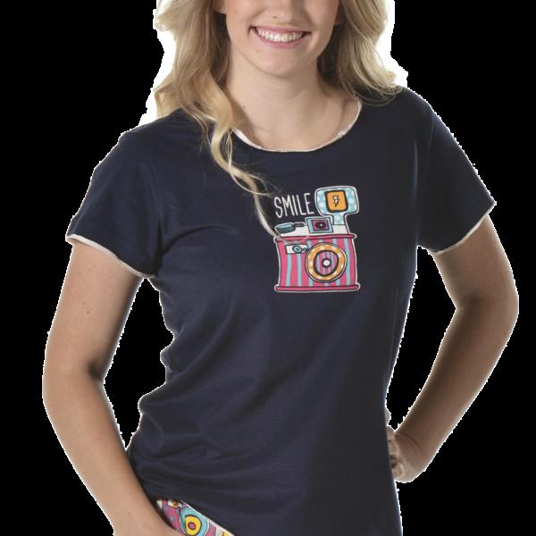 Smile PJ Shirt